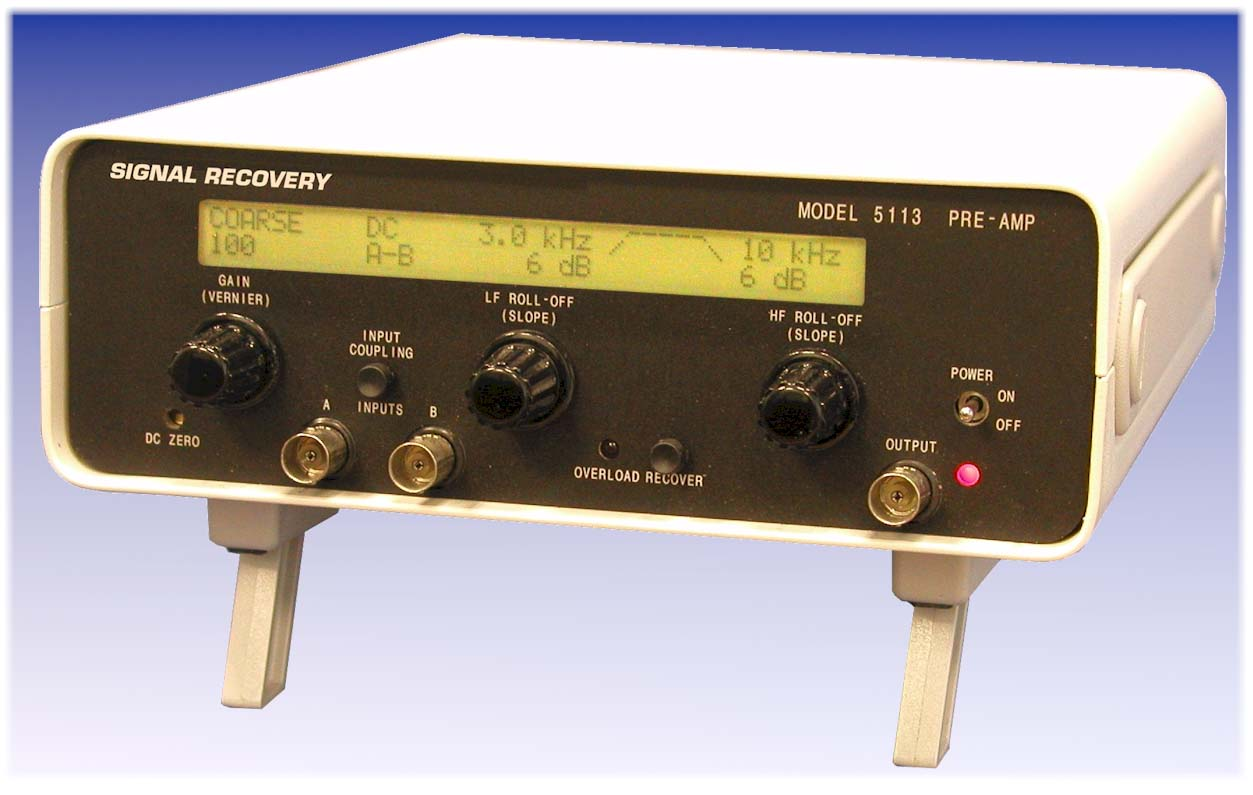 Model 5113 Low-Noise Voltage Preamplifier