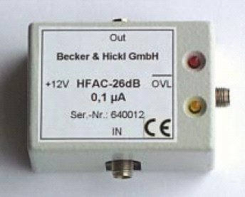 HFAC-26 26dB GHz amplifier