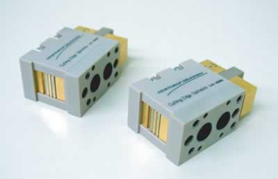 Microchannel cooled diode array