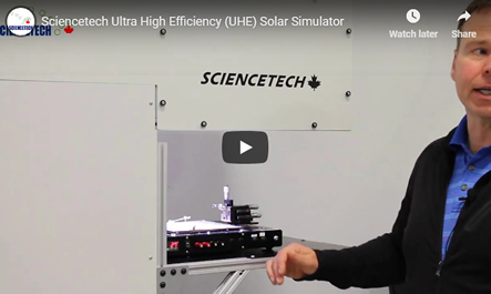 Sciencetech Ultra High Efficiency Solar Simulators Video